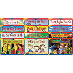 Creative Teaching Press(R) Primary Character Education Classroom Pack, Pack Of 72