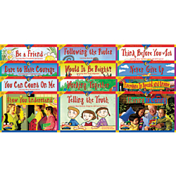 Creative Teaching Press(R) Primary Character Education Variety Pack, Pack Of 12