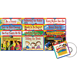 Creative Teaching Press(R) Primary Character Education Variety Pack With CD, Pack Of 12