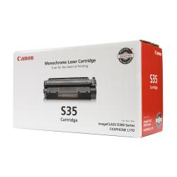Canon S35 Black Toner Cartridge (7833A001)