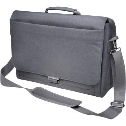 Kensington K62623WW Carrying Case (Messenger) for 14.4in. Notebook, Tablet, Accessories, Ultrabook, Smartphone - Cool Gray