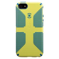Speck Candyshell Grip Case For iPhone(R) 5/5s, Lemongrass Yellow/Harbor Blue