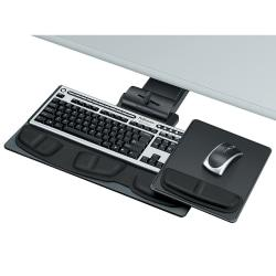 Fellowes (R) Professional Series Executive Keyboard Tray, Graphite/Silver