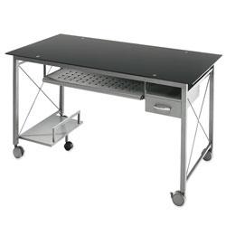 Charmant Realspace Onyx Matrix Computer Desk 29