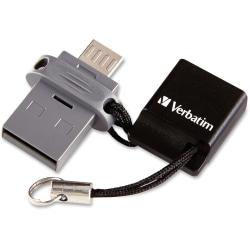 Cheap Offer Verbatim Store 'n' Go Dual USB Flash Drive for OTG Devices, 64GB Before Special Offer Ends