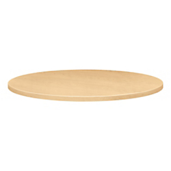 HON(R) Round Hospitality Table Top, 36in.W x 36in.D, Natural Maple