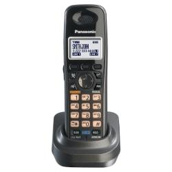 Panasonic KX-TGA939T DECT 6.0 Digital Cordless Accessory Handset, Black Metallic