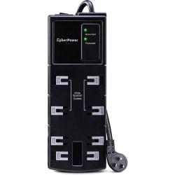 CyberPower CSB806 Essential 8-Outlets Surge Suppressor 6FT Cord