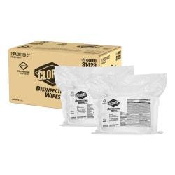 Clorox(R) Disinfecting Wipes Refills, Fresh Scent, 700 Wipes Per Bag, Carton Of 2 Bags