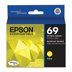 Epson(R) 69, (T069420-S) DuraBrite(R) Ultra Yellow Ink Cartridge