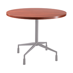 Safco(R) RSVP Table Top, Round, 42in.W, Cherry