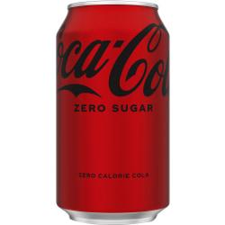 Coca-Cola(R) Zero Sugar, 12 Oz., Case Of 24