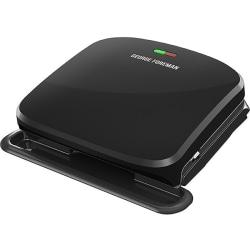 George Foreman 4-Serving Removable Plate Panini Grill - Black