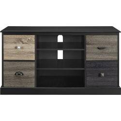 Ameriwood(TM) Home Blackburn TV Console For 50in. Flat-Screen TVs, Black