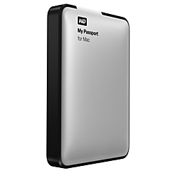 WD My Passport For Mac 1TB External USB 3.0 Portable Hard Drive