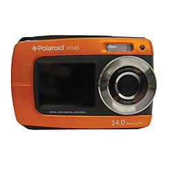 Polaroid (R) IF045 14-Megapixel Digital Camera, Orange