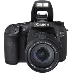 Canon EOS 7D 18 Megapixel Digital SLR Camera (Body with Lens Kit) - 18 mm - 135 mm - Black