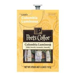 MARS DRINKS(TM) Flavia(R) Coffee Peet's(R) Columbia Luminosa Freshpacks, 0.25 Oz, Case Of 72