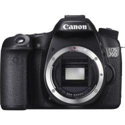 Canon EOS 70D 20.2 Megapixel Digital SLR Camera (Body Only) - Black