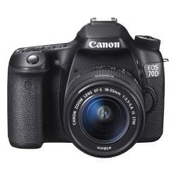 Canon EOS 70D 20.2 Megapixel Digital SLR Camera (Body with Lens Kit) - 18 mm - 55 mm