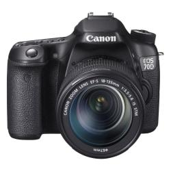 Canon EOS 70D 20.2 Megapixel Digital SLR Camera (Body with Lens Kit) - 18 mm - 135 mm