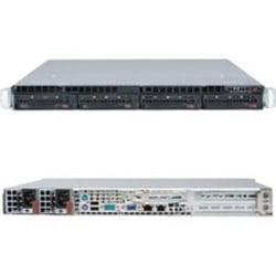 Supermicro SuperServer 5017C-URF Barebone System - 1U Rack-mountable - Intel C216 Chipset - Socket H2 LGA-1155 - 1 x Processor Support - Black