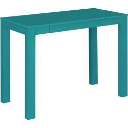 Ameriwood(TM) Home Parsons Desk With Drawer, Teal