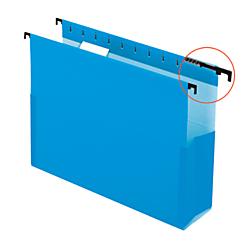 Pendaflex(R) SureHook(R) Pocket Reinforced Box Files, 2in. Expansion, Letter Size, Blue, Pack Of 25
