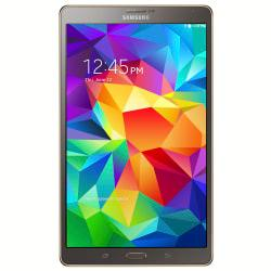 Samsung Galaxy Tab(R) S 8.4in. Tablet, 16GB, Titanium Bronze