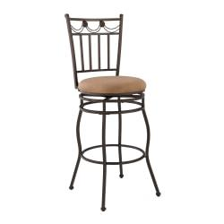 Linon Home Decor Products Monaco Counter Stools, 30in.H, Brown