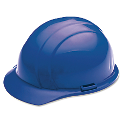 SKILCRAFT(R) Easy Quick-Slide Cap Safety Helmet, Blue (AbilityOne 8415-00-935-3132)