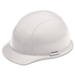 SKILCRAFT(R) Easy Quick-Slide Cap Safety Helmet, White (AbilityOne 8415-00-935-3139)