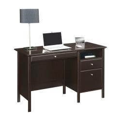 Realspace(R) Chase Desk, 30in.H x 47in.W x 21 5/8in.D, Dark Chestnut