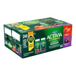 Activia Probiotic Low-Fat Yogurt Drink Dailies Variety Pack, 3.1 Oz, Pack Of 24 Dailies