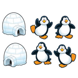 Carson Dellosa Cut Out Buddies Penguins