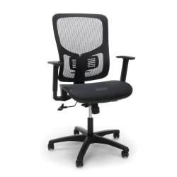 OFM Essentials Ergonomic High-Back Office Chair, Black