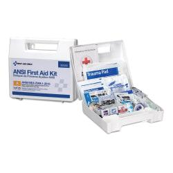 First Aid Only 25-Person First Aid Kit, 9 1/2in.H x 7 1/4in.W x 2 3/4in.D