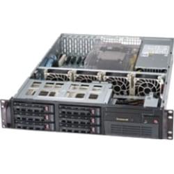 Supermicro SuperServer 6027B-TLF Barebone System - 2U Rack-mountable - Intel C602 Chipset - Socket B2 LGA-1356 - 2 x Processor Support - Black