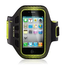 Belkin(TM) Easefit Armband For iPhone(R) 5, Blacktop