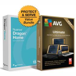 AVG Ultimate 2019, 2 Years + Dragon Home V.15, Download Version