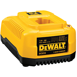 Dewalt(R) 3-stage charging system provides maximum run-time and extends overall life of the battery Diagnostics with LED indicator communicates battery charge status: charged, charging, power line problem, replace pack, and battery too hot or too cold 1 Hour Charger is one of many Chargers & Adapters available through Office Depot. Made by DeWalt.