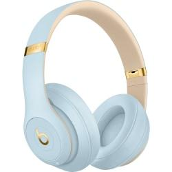 Beats by Dr. Dre Beats Studio3 Wireless Headphones - The Beats Skyline Collection - Crystal Blue - Stereo - Mini-phone - Wired/Wireless - Bluetooth -