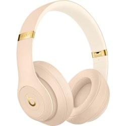 Beats by Dr. Dre Beats Studio3 Wireless Headphones - The Beats Skyline Collection - Desert Sand - Stereo - Mini-phone - Wired/Wireless - Bluetooth - O