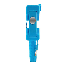 iPlanet (R) Mini Cable Selfie Stick, Blue