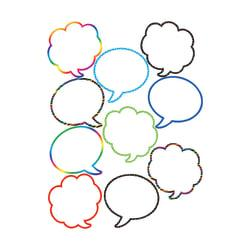 Teacher Created Resources Decorative Accents, Speech/Thought Bubbles, Multicolor, Pre-K - Grade 8, Pack Of 30