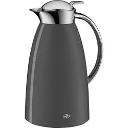 ALFI Gusto Glass Vacuum Insulated Lacquered Metal Carafe 1.0 L - 1.1 quart (1 L) - Vacuum - Space Gray