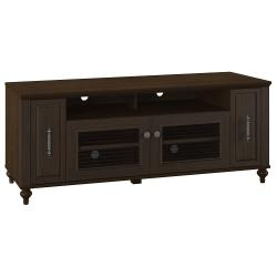 Kathy Ireland Office By Bush (R) Volcano Dusk TV Stand With Pull-Out Media Storage, 23 1\/2in. x 58in. x 20 1\/2in., Kona Coast