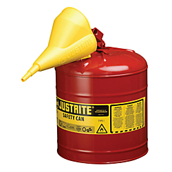 2.5 Gallon Red Safety Can