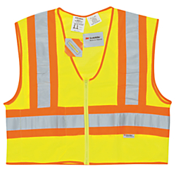 River City Luminator Class II Flame Resistant Vest, Large, Fluorescent Lime