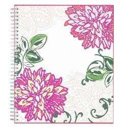 Blue Sky(TM) Monthly Planner, 10in. x 8in., Dahlia, January to December 2019